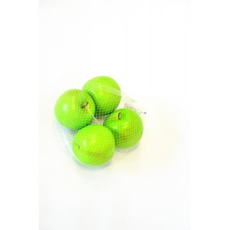 Umelé jablká veľké sieť mix 4ks